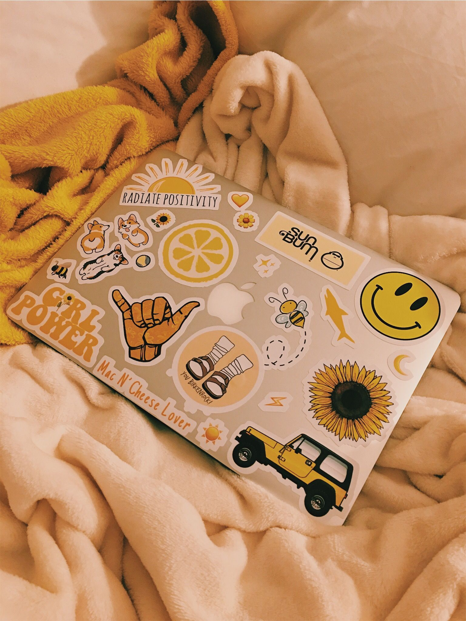 Madedesigns Shop Aesthetic Stickers Yellow Aesthetic Cute Stickers