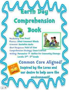 Earth Day Writing And Comprehension Book Community Clean Up Persuasive Essay A On Green Environment