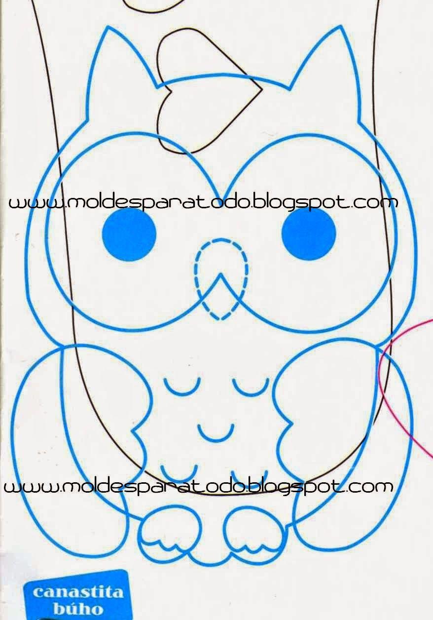 Moldes para Todo: *- Dulceros Búhos -* | Bagoly | Pinterest | Owl ...