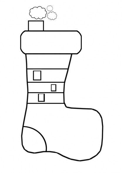 I disegni di toysblog le calze della befana da colorare for Calza della befana da colorare