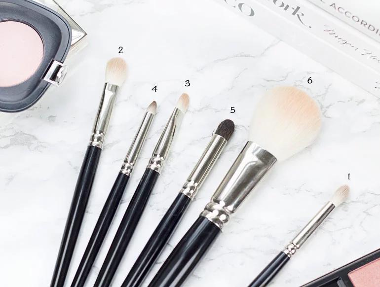 Hakuhodo makeup brushes review · Geeky Posh in 2020