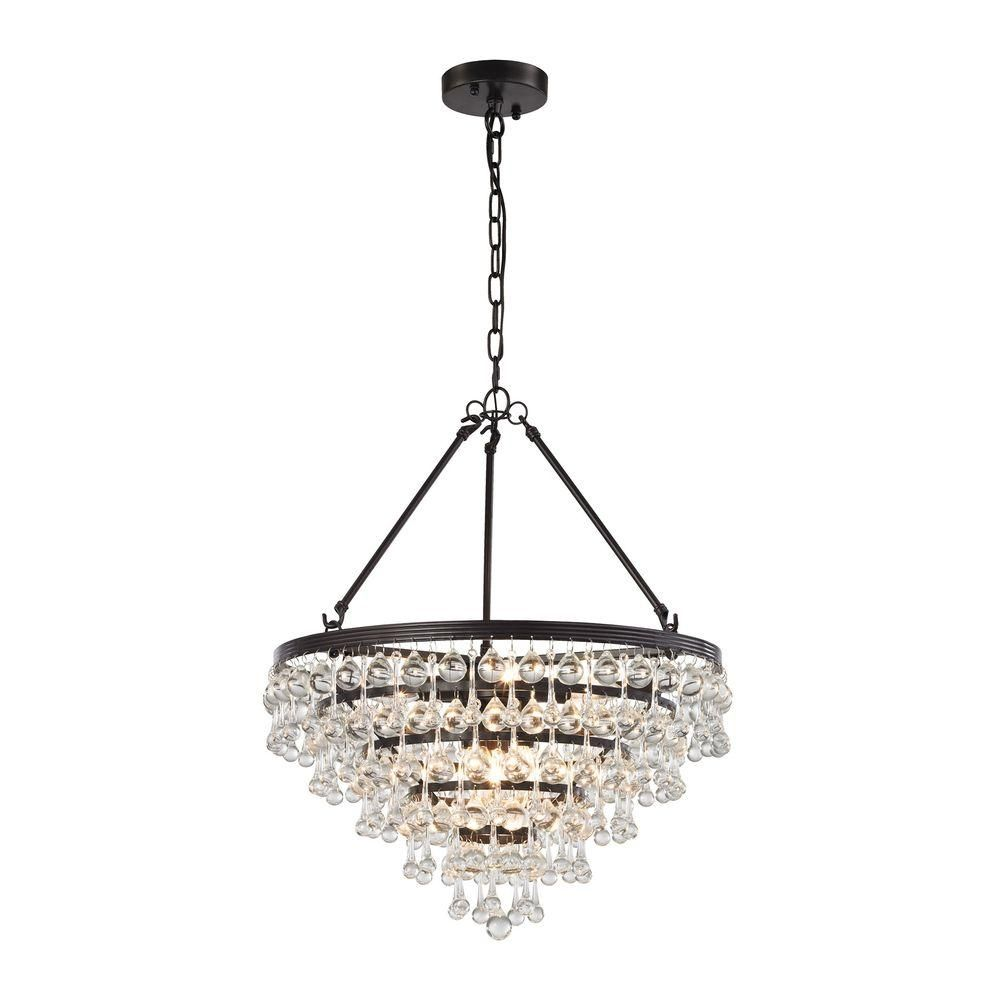 Oil Rubbed Bronze Kitchen Island Lighting Null Ramira 6 Light Oil Rubbed Bronze Chandelier Home The O