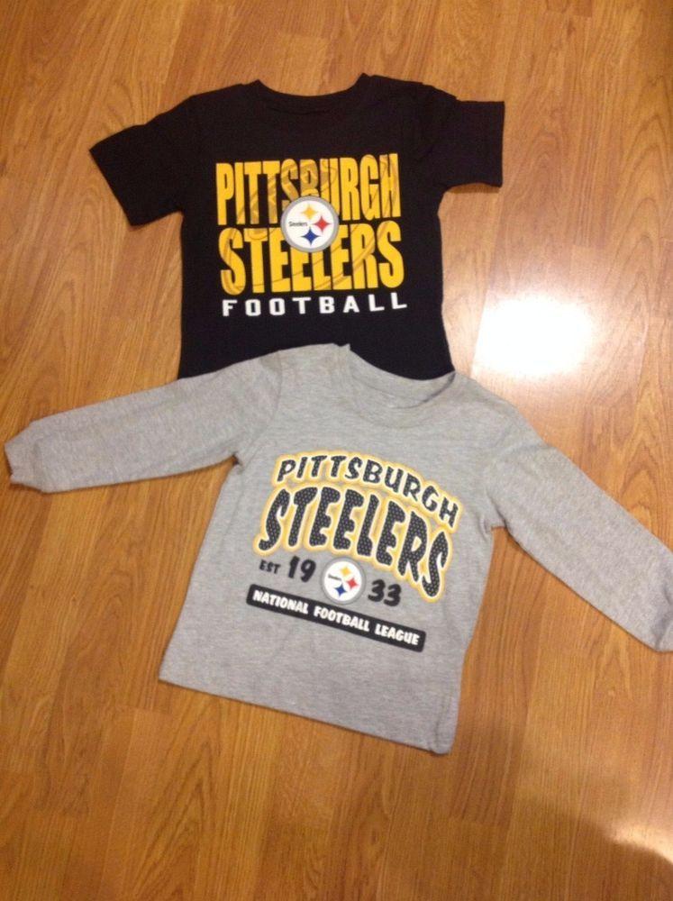 NEW NFL Licensed Pittsburgh Steelers Kids T shirt Various
