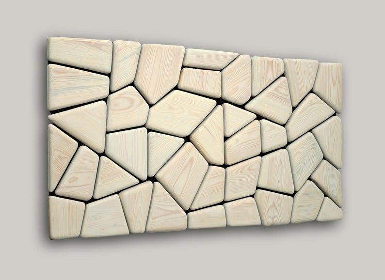 Wooden Mosaic Decor Modern Wood Wall Art Organic Wall Art Reclaimed Wall Art Environment Wall Art Reclaimed Wall Art Reclaimed Wood Wall Art Etsy Wall Art