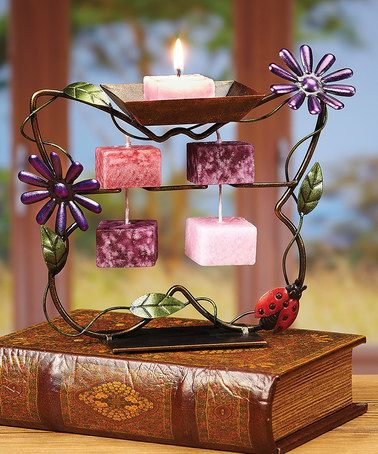 Loving this Butterfly Candle-on-Rope Holder on #zulily! #zulilyfinds