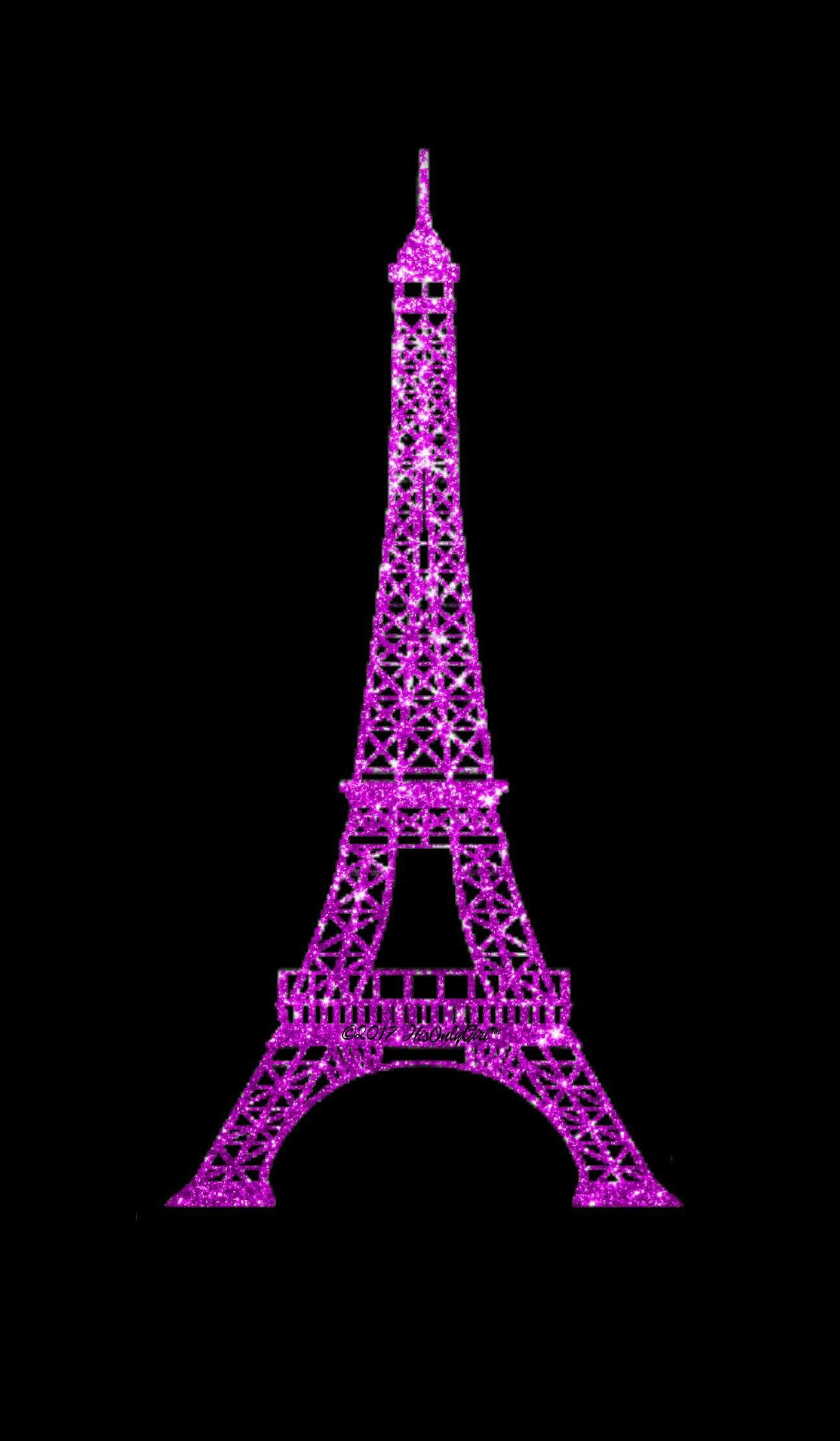 Eiffel Tower Glitter Wallpaper I Created For The App Cocoppa Paris Tour Eiffel Glitter Images Iphone Wallpaper Glitter