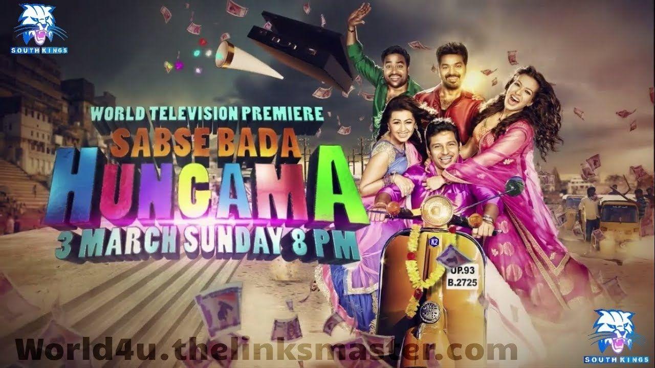 Sabse Bada Hungama Hindi Dubbed Movie Sabse Bada Hungama Hindi Dubbed Tv Premiere On Sonymax Hungama Movie Hd Movies Comedy Films