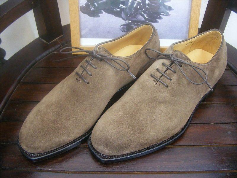 KOKON FactoryMade「417」ブラウンスエード #gloucesterroad #KOKON #shoes #yokohama