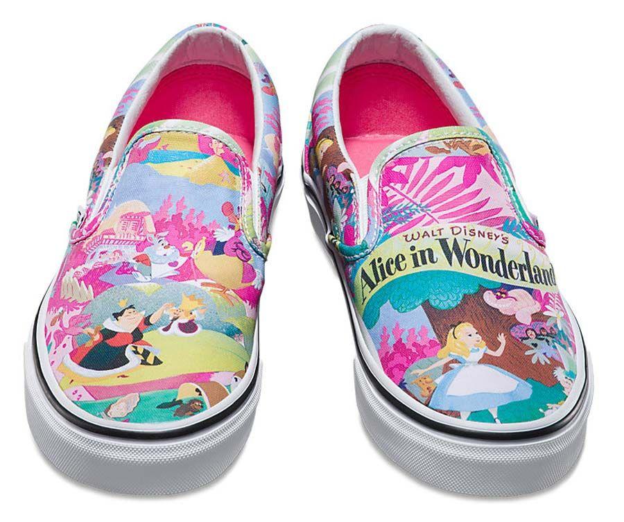 Os novos tênis Vans de personagens Disney  4a2324d6d41