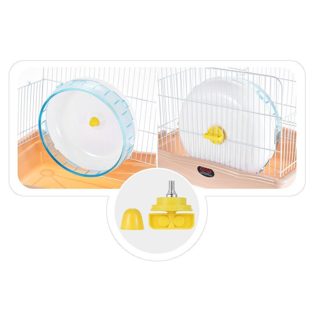 Walmeck 8 3inch Hamster Mice Gerbil Rat Exercise Wheel Silent