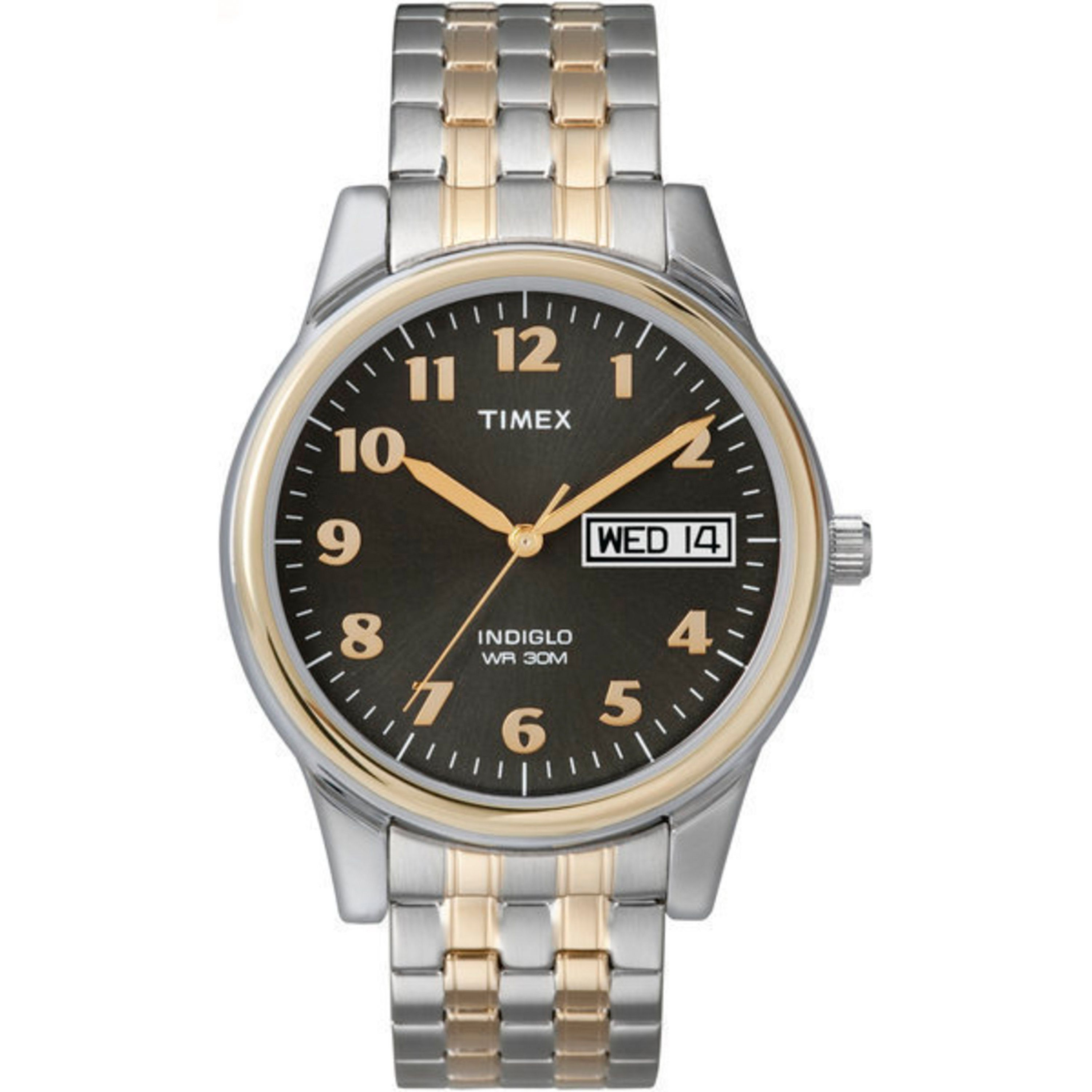 timex men s t26481 elevated classics stainless steel expansion timex men s t26481 elevated classics stainless steel expansion band watch