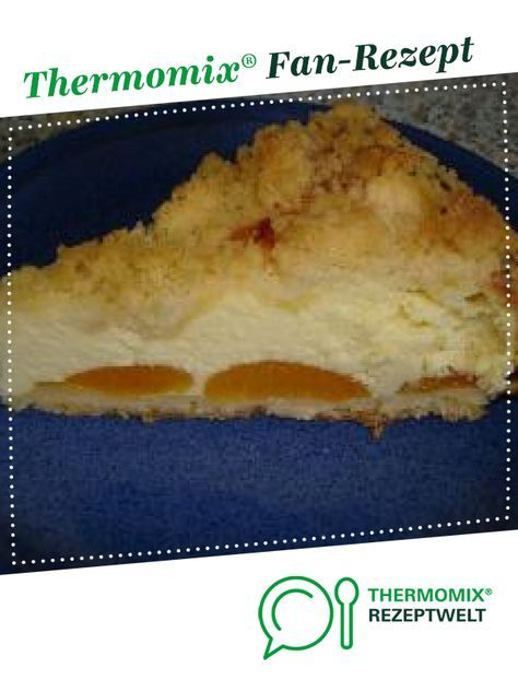 Photo of Quark crumble cake with peaches