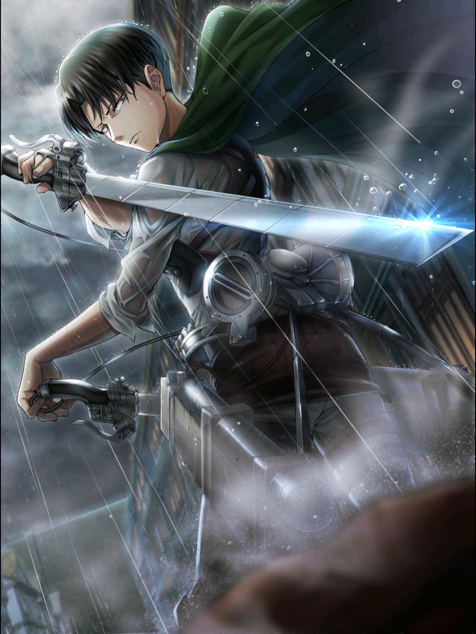 Levi Looking Badass As Usual What S New Gambar Anime Karya Seni Fantasi Referensi Gambar