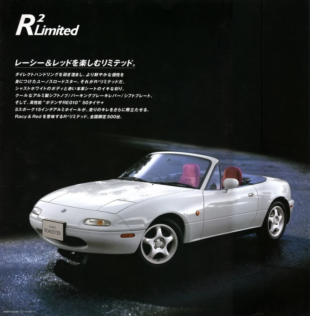 Eunos R2-limited - Body, Interior & Styling - MX-5 Owners Club Forum