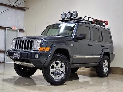 Ebay 2006 Jeep Commander Limited Jeep Commander Lifted 4x4 V8 Engine Trail Rated Sunroof Roof Rack Tow Jeep Jeeplife Usdeals Glass Roof Roofing Roof Styles