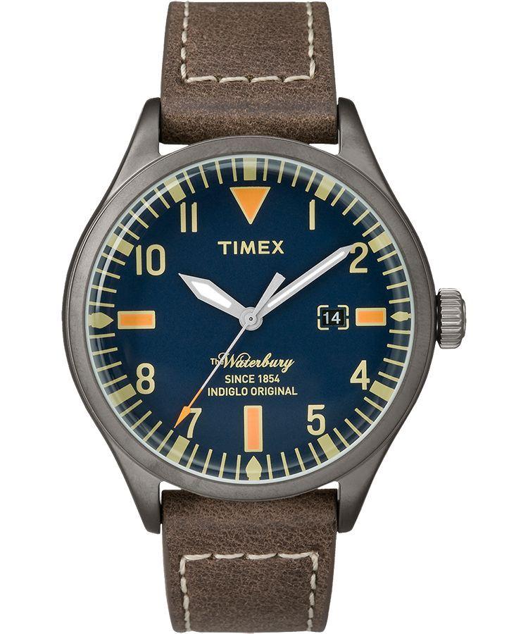 35343b5d2f Waterbury 40mm Leather Watch