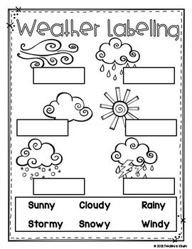 19++ Weather writing worksheets for kindergarten Top