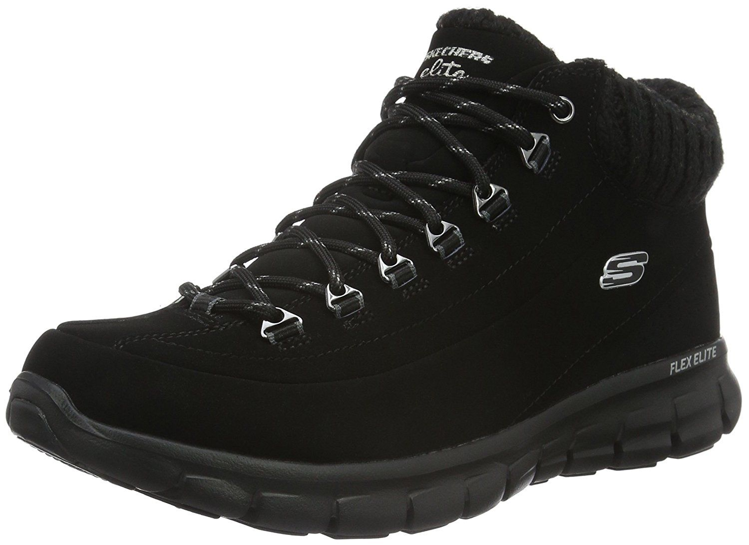 Skechers Women's Synergy Winter Nights Lace Up Fashion