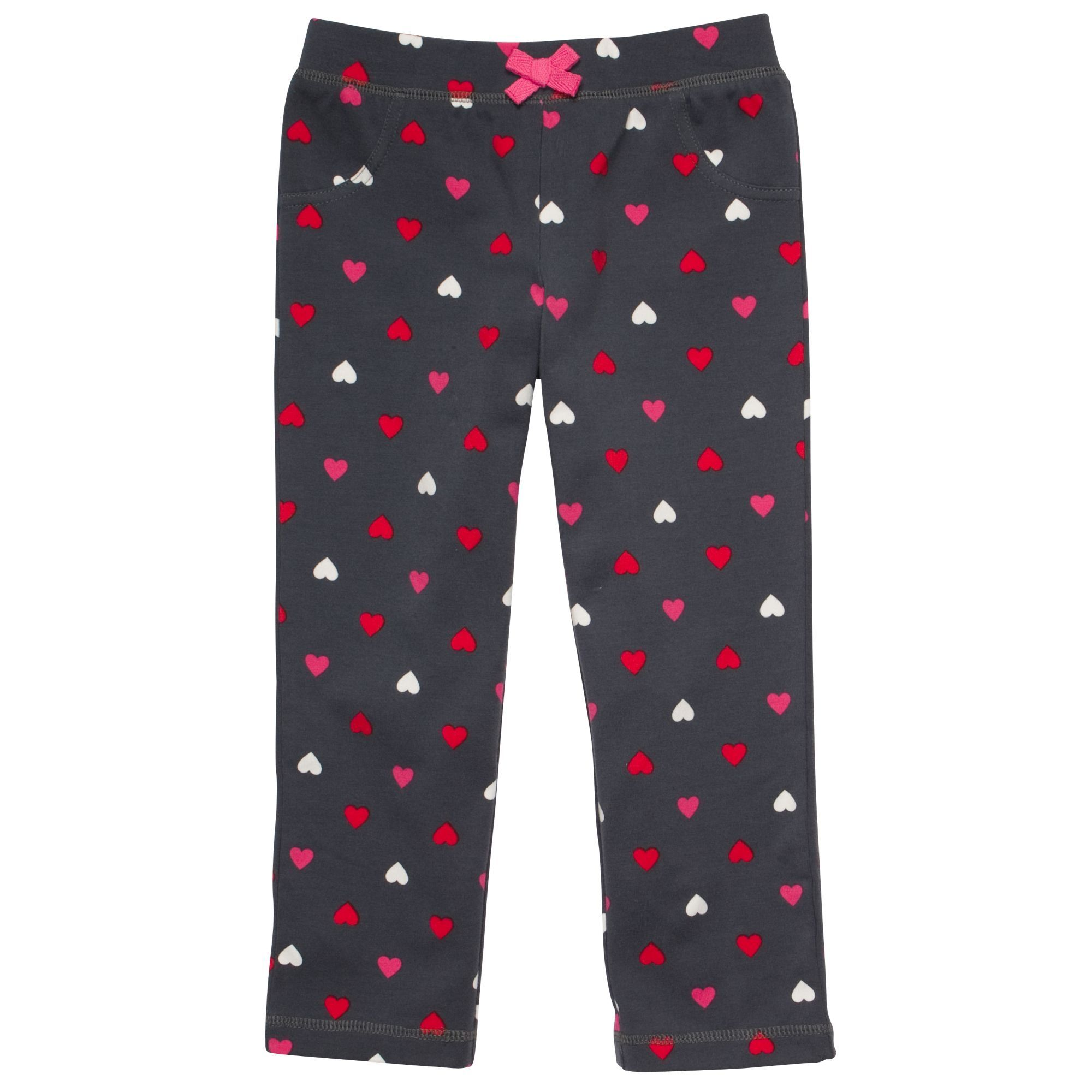 Black Hearts Yoga Stretch Carter's girls pants