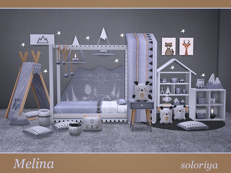 lana cc finds - ***melina*** toddlers room | ts4 toddlers bedroom