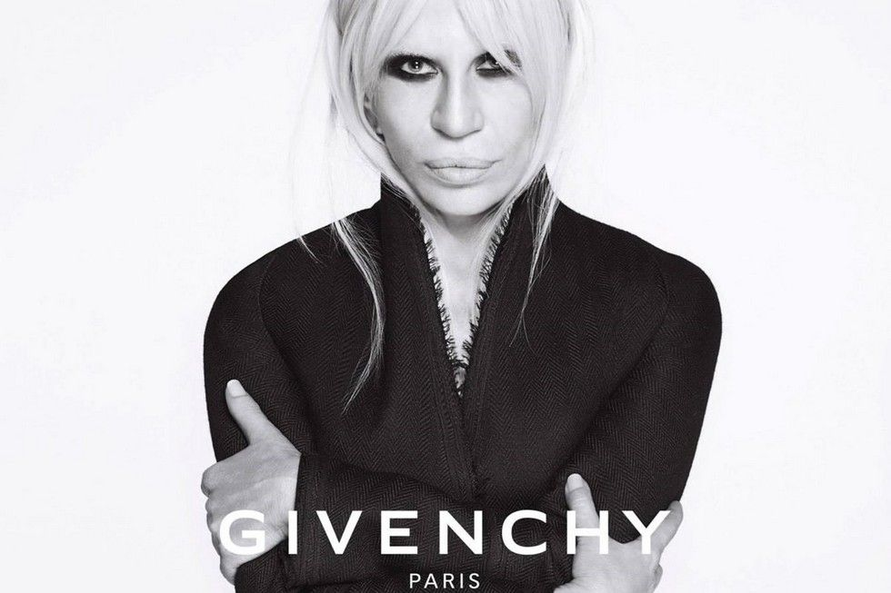 Famous Fashion Designers Donatella Versace Is The New Face Of Givenchy Fashion Fashion Designers Famous Famous Fashion