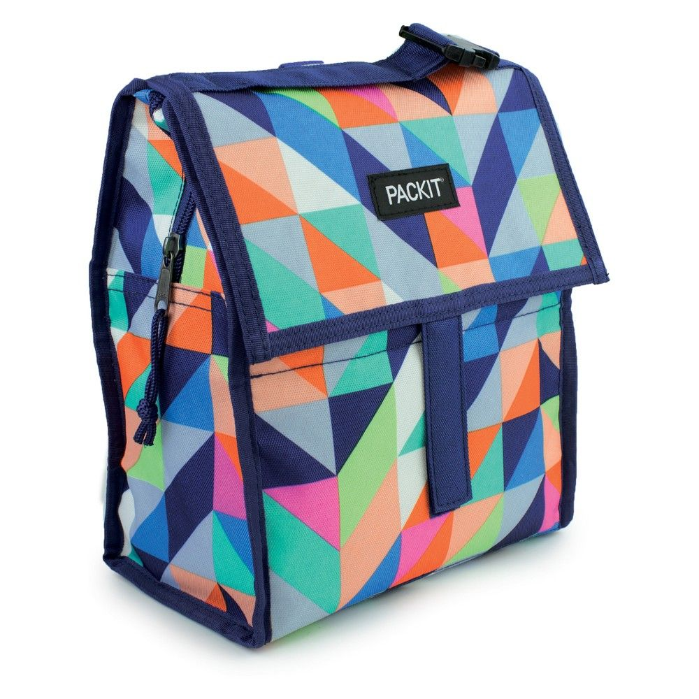 Packit Freezable Lunch Bag Paradise Breeze Multi Colored
