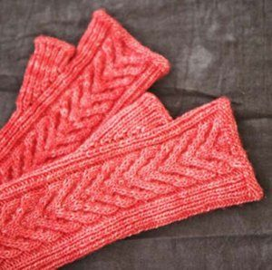 Staghorn Mitts Pattern