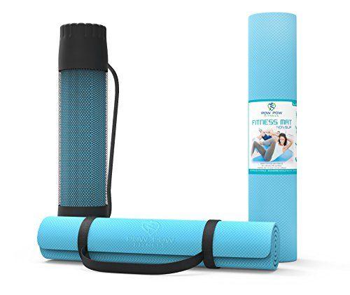 Yoga Mat W Bag Carrying Strap Yoga Pilates Exerc Biodegradable Products Yoga Mat Lululemon Yoga Mat