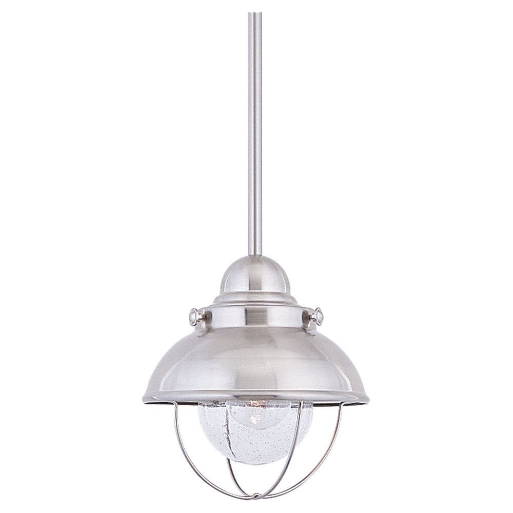 One Light Outdoor Mini-Pendant