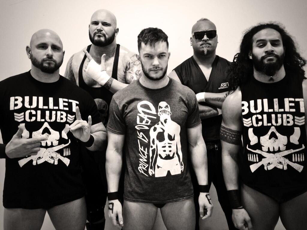 Prince Devitt and the Bullet Club | Balor club, Njpw, Wrestling