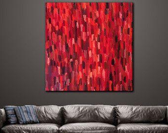Arte pared Arte Original pintura acrílico geométrico