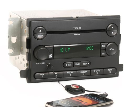 Ford Focus 2006-2007 OEM Radio AM FM 6 Disc CD Player w Aux