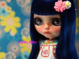 Resultado de imagen de ooak Custom Blythe Doll Tan with carved teeth
