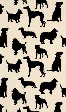 Au Au Au Dog Wallpaper Osborne Little Wallpaper Dog