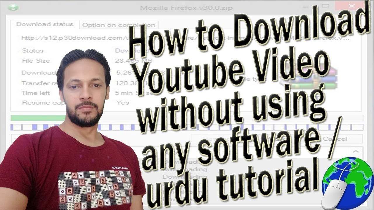 how to download youtube video without using any software