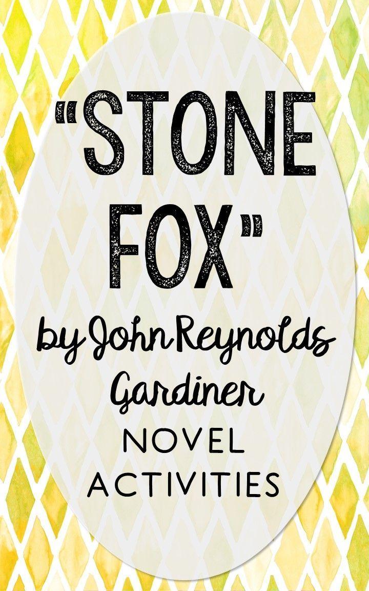 worksheet Stone Fox Worksheets stone fox novel unit study activities book companion worksheets project