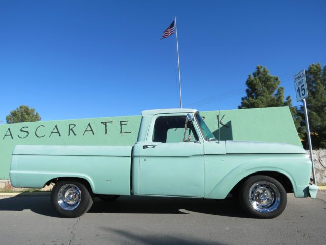 1966 Ford F100 Truck V8 Short Bed Rat Rod Hot Rod Project Classic 1967 1968 For Sale Photos Technical Specifications Desc 1966 Ford F100 F100 Truck Rat Rod