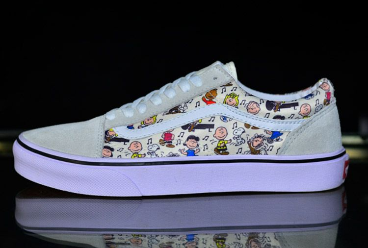 98b638c5c3 Vans x Peanuts Snoopy Cartoon Old Skool Skateboard Shoes  Vans Australia
