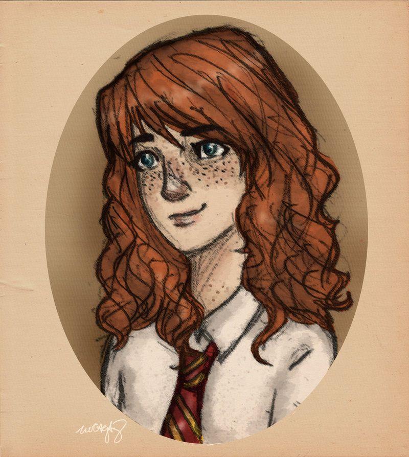 Rose Weasley By Incredibru On Deviantart Anime
