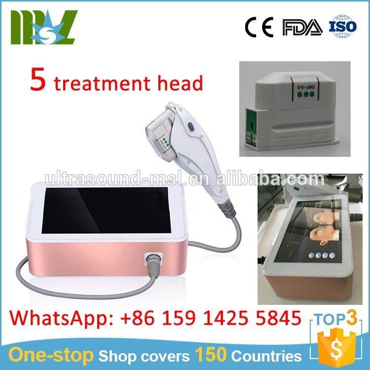 Mslhf07 Profession Korea Home Use Mini Hifu Machine For Face Lift Facelift Mini Medical Equipment