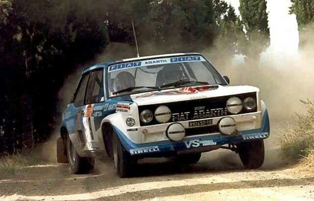 Walter Rohrl Fiat 131 Abarth Rally Car Fiat Fiat Cars