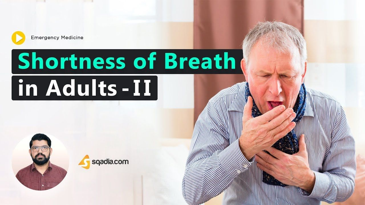 Shortness of Breath in Adults - II i 2020