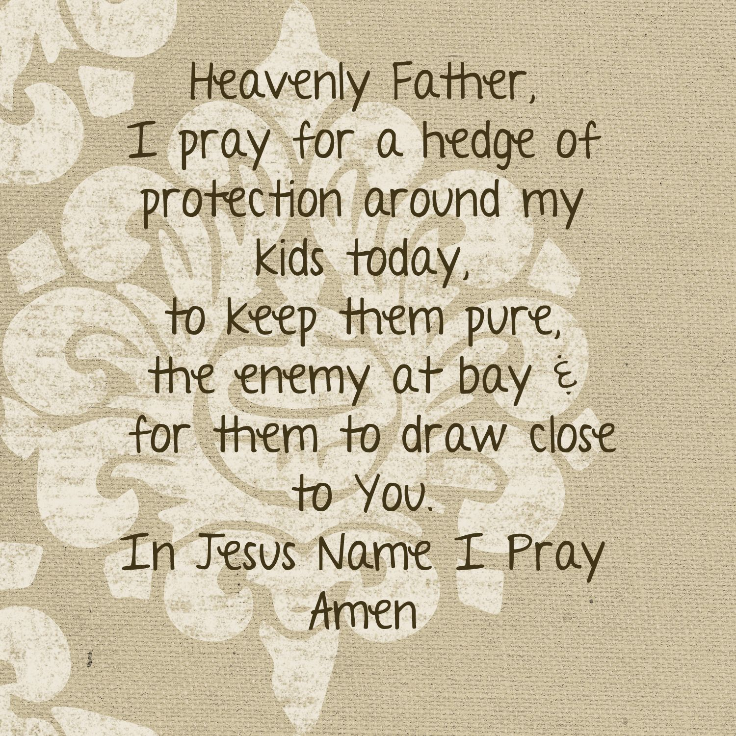 Hedge of protection | Gentle Reminders | Prayer for