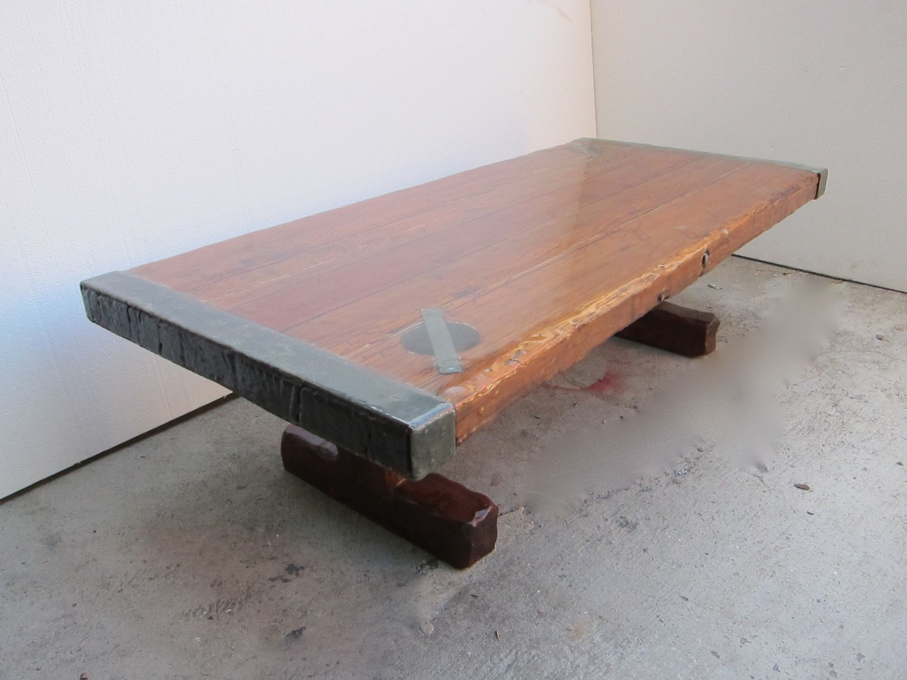 ww2 naval ships hatch door converted coffee table | ship hatch