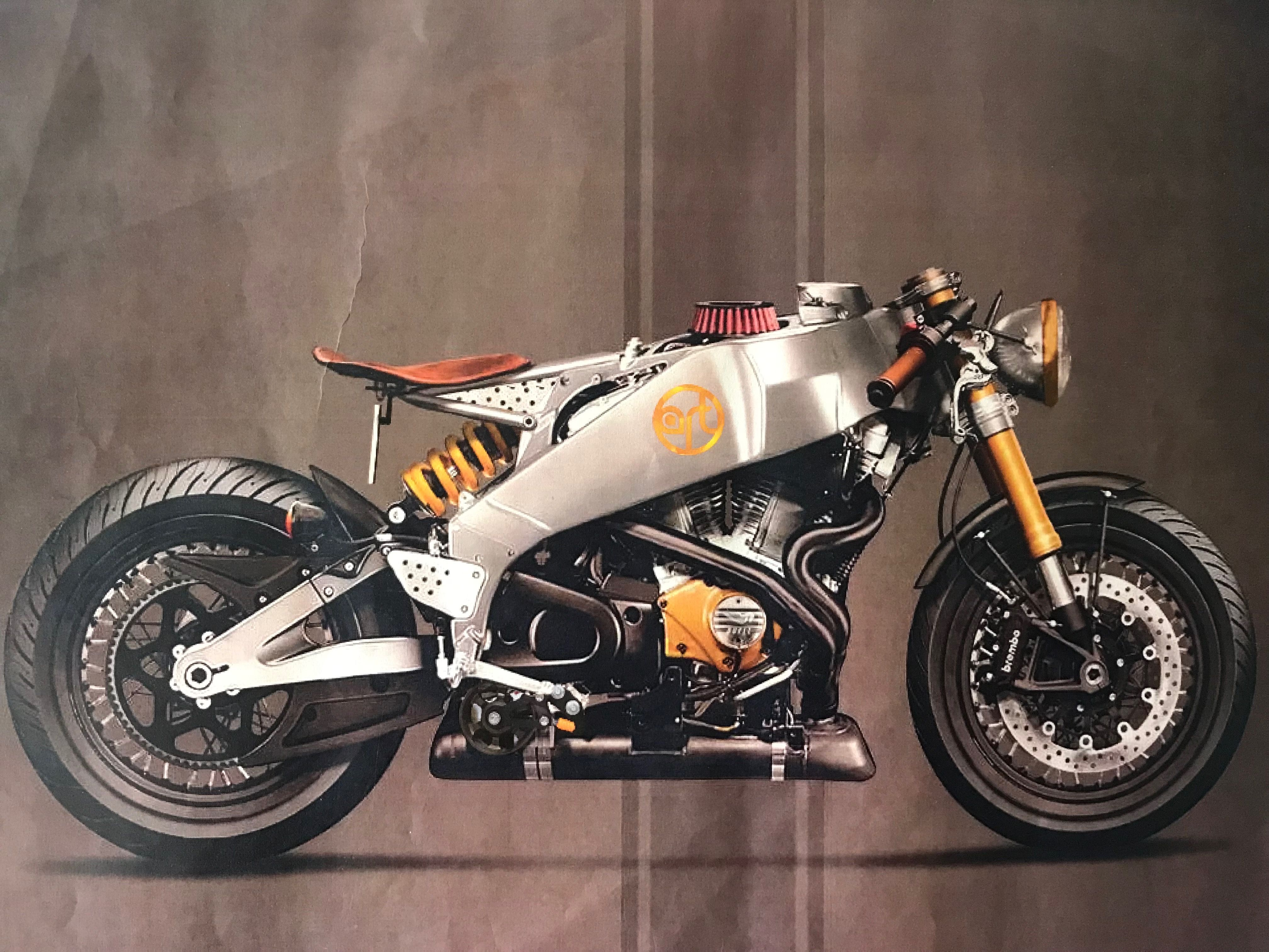 Me Improving On A Custom Buell Xb Rendering By Holographic Hammer Motorcycle Concept Bike Motorcycle