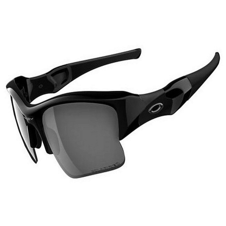 Oakley Flak XLJ Polarized Sunglasses, Jet Black_Black