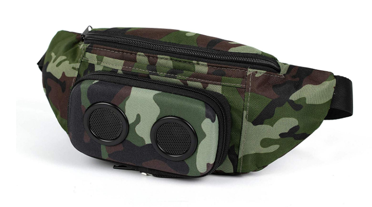 1eba28e125e2 Amazon.com: The #1 Fannypack with Speakers. Bluetooth Fanny Pack for ...