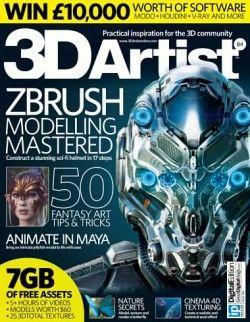 Download 3d Artist Issue 84 2015 Online Free Pdf Epub Mobi Ebooks Booksrfree Com Zbrush 3d Artist Sci Fi