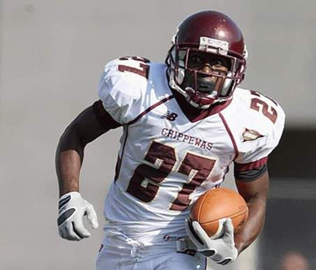 Antonio Brown 27 Central Michigan Chippewas Wr Central Michigan Football Central Michigan Central Michigan University
