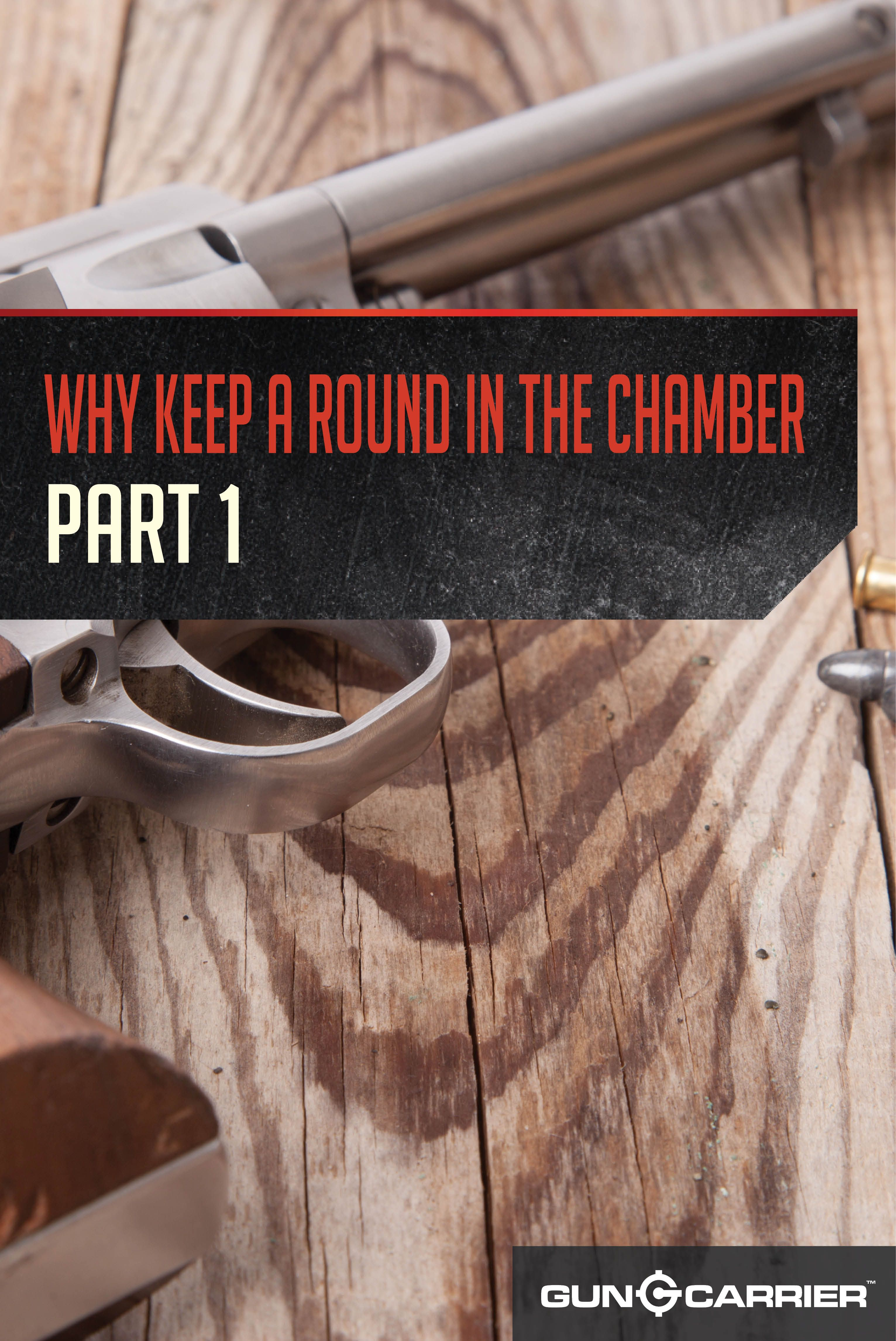 Why Carry With a Round in the Chamber Part 1 (With images